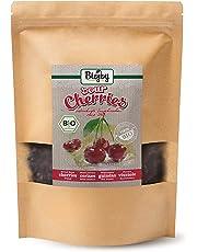 Biojoy Guindas Secas BÍO | 100% ecologico, completamente auténticas, sin azúcar y azufre | guindas enteras, cuidadosamente desecadas y sin hueso | calidad premium bío | Prunus cerasus (1 kg)