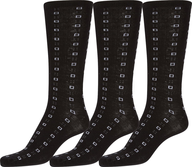 Sakkas Aayu Mens Classic Patterned and Colorful Design Dress Socks Asst 3-packs
