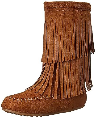 Amazon.com | Rampage Britt Fringe Boot (Little Kid/Big Kid) | Boots