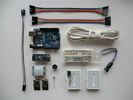 Amazon electronic project starter kit for arduino arduino uno electronic project starter kit for arduino arduino uno r3 atmega328p and nano compatible boards publicscrutiny Choice Image