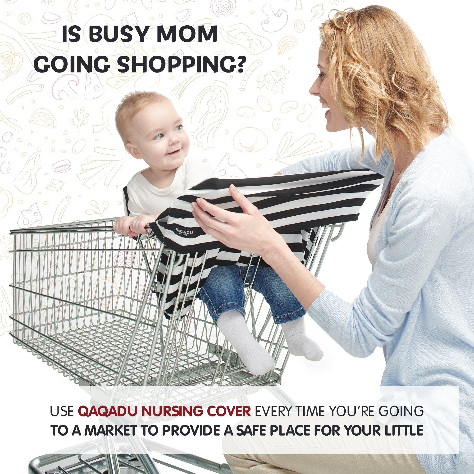 f7aaf795c7b Nursing Breastfeeding Cover Scarf - Baby Car Seat Canopy - Nursing Pads