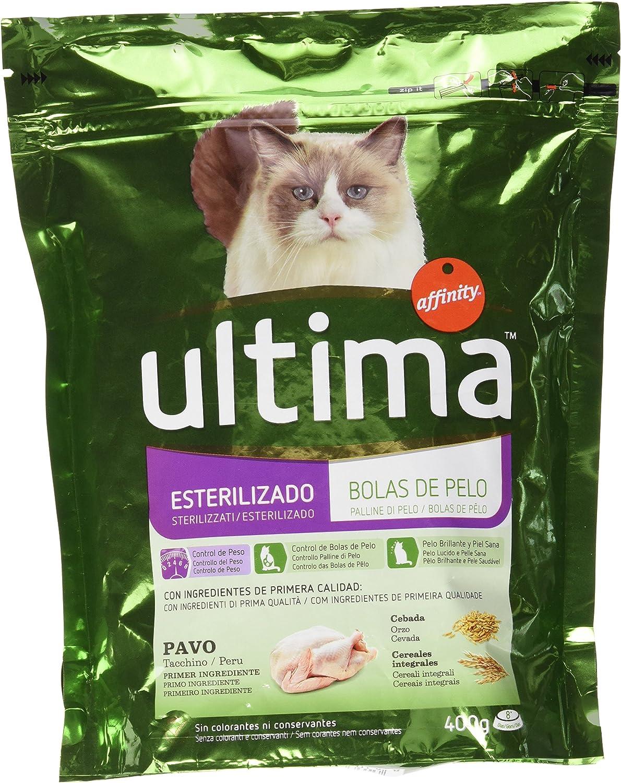 Affinity Petcare - Ultima - Alimento para Gatos Esterilizados - 400 g: Amazon.es: Productos para mascotas