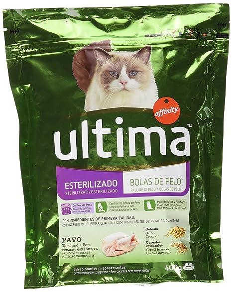 Affinity Petcare - Ultima - Alimento para Gatos Esterilizados - 400 g