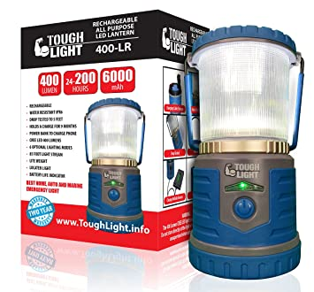 Tough Light LED Rechargeable Lantern - 200 Hours of Light From a Single Charge Longest  sc 1 st  Amazon.com & Amazon.com : Tough Light LED Rechargeable Lantern - 200 Hours of ... azcodes.com