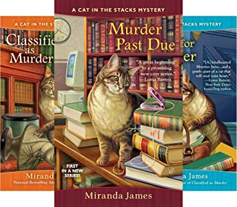Cat in the Stacks Mystery