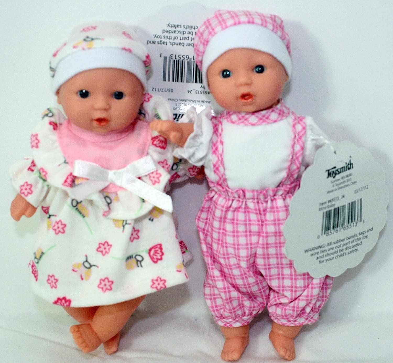 2のセットMy Sweet Baby Miniベビー人形by Toysmith、セットA 6551324SETC Set C  B077KJ8RK4