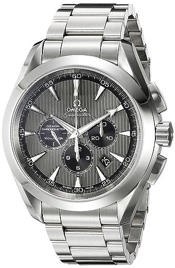Omega 231.10.44.50.06.001 - Reloj de pulsera hombre, acero inoxidable