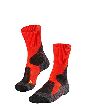 5914cc9b6 Falke Men's TK1 Cool Trekking Socks, Wildfire, Size 39-41: Amazon.co ...