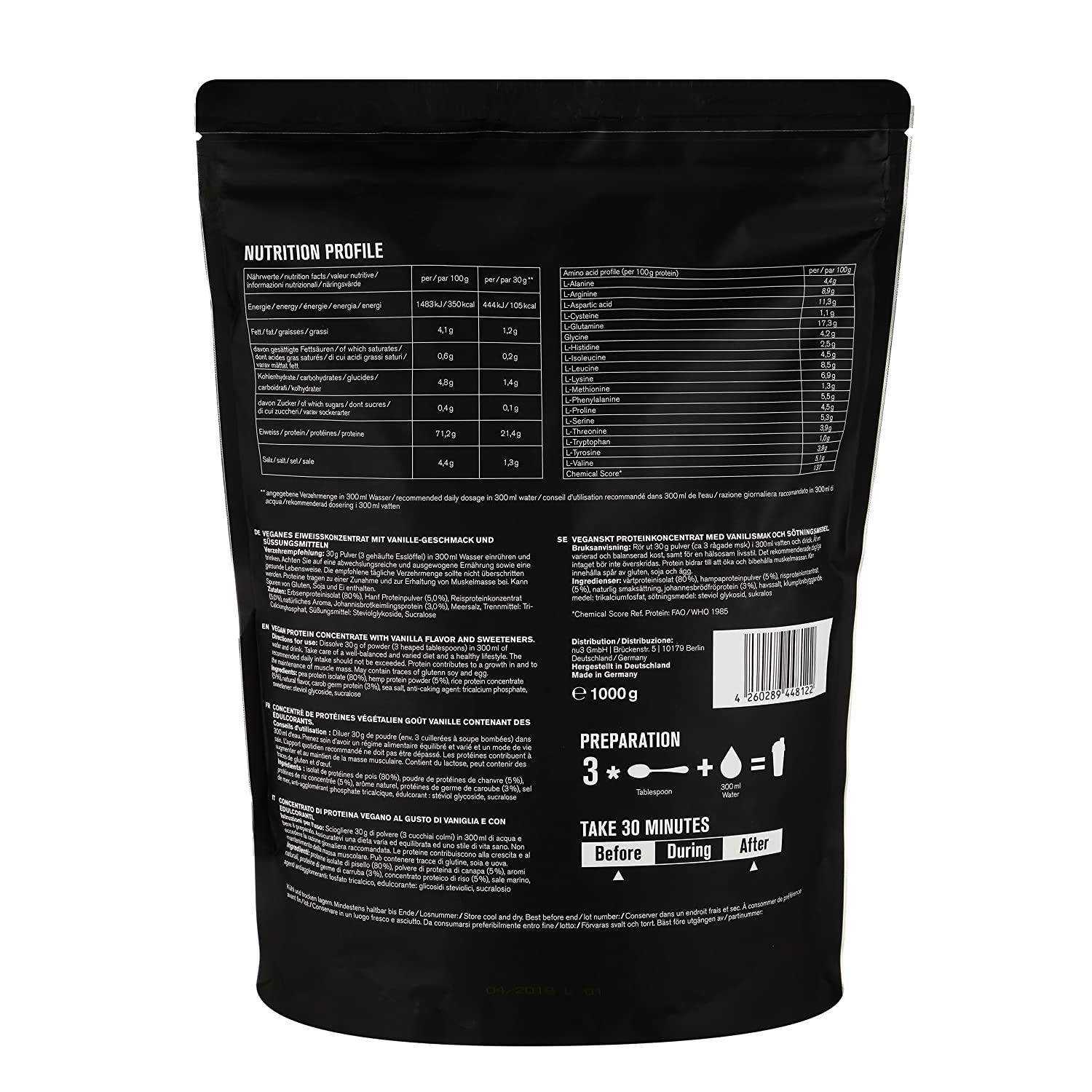 body science whey 100 dosering