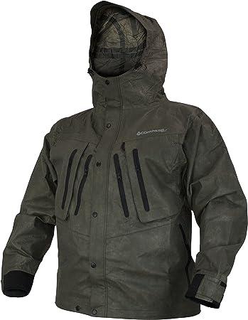 Compass 360 Rain Jacket RainTek Large Breathable Black