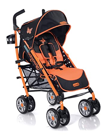 BabyPlanet Endangered Species Stroller, Butterfly (Discontinued by Manufacturer)