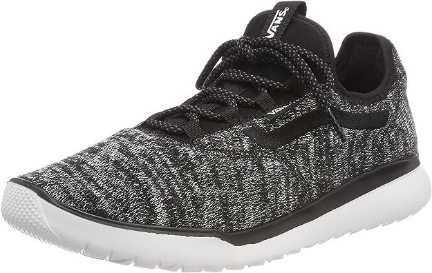 Vans Herren CERUS LITE Sneaker, Schwarz ((Knit) BlackWhite