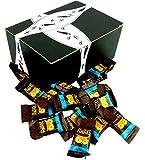 AWAKE Caffeinated Milk Chocolate, 0.53 oz Bites in a BlackTie Box (Pack of 15)