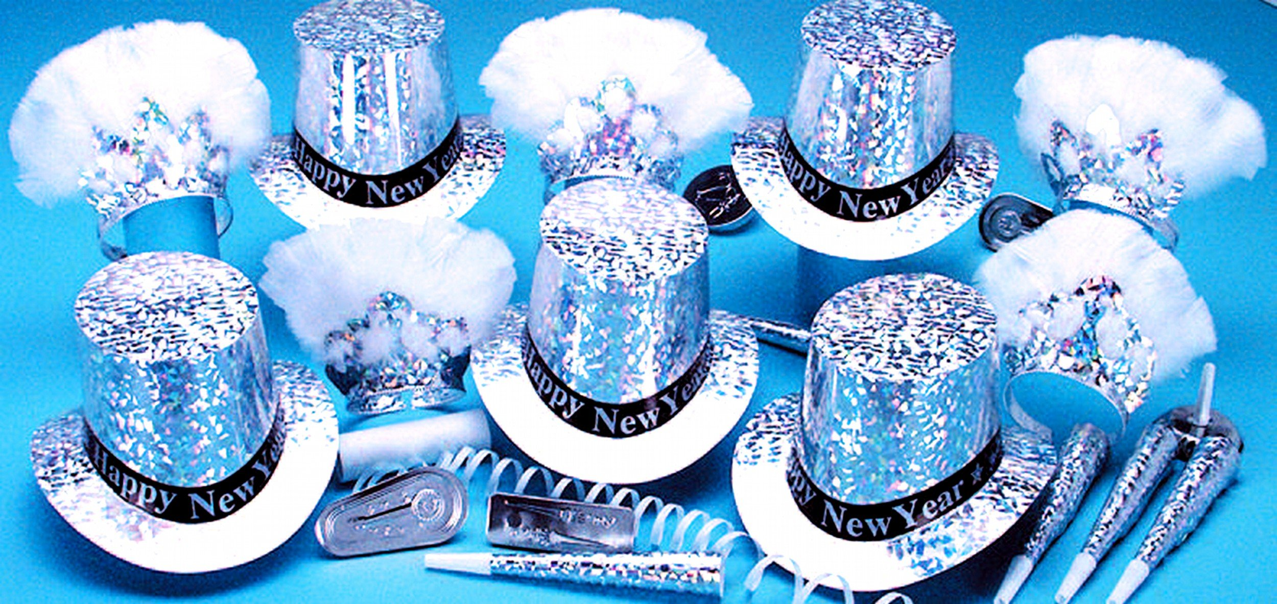 Sterling Party Kit W/Happy New Year Band for 50