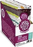 Veggie-Go's by Wildmade Beet, Apple + Cinnamon (20 pack) Organic Fruit Leather with Veggies. Vegan Snacks with No Added…