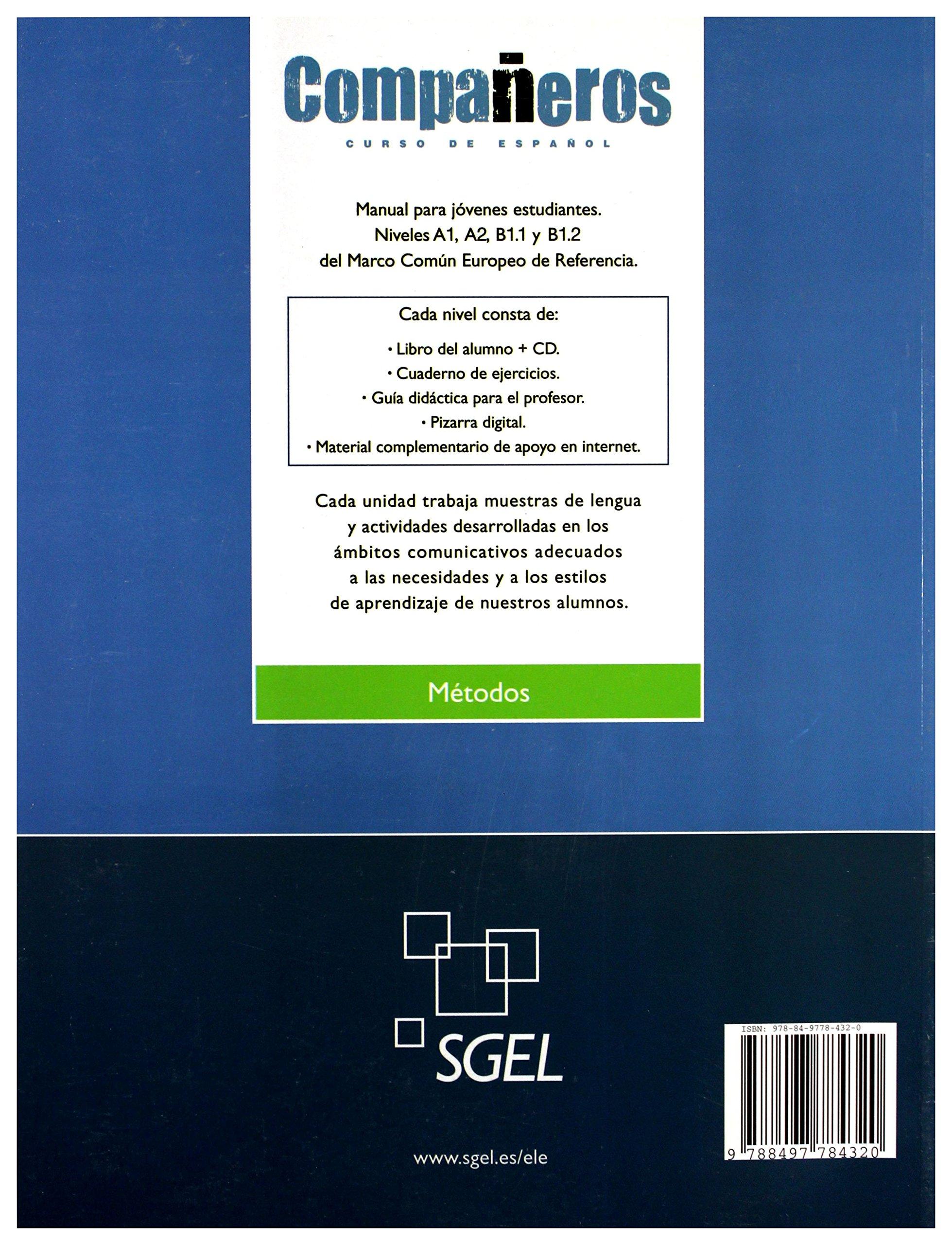 Companeros 2: Exercises Book (Spanish Edition): Ignacio ...