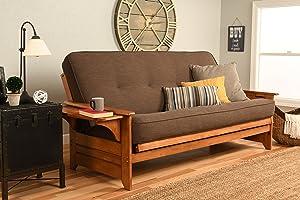 Kodiak Furniture Phoenix Futon Set, Full, Barbados