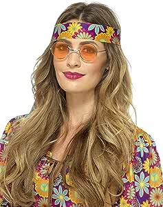 Smiffys Gafas Hippies, Naranja: Amazon.es: Juguetes y juegos