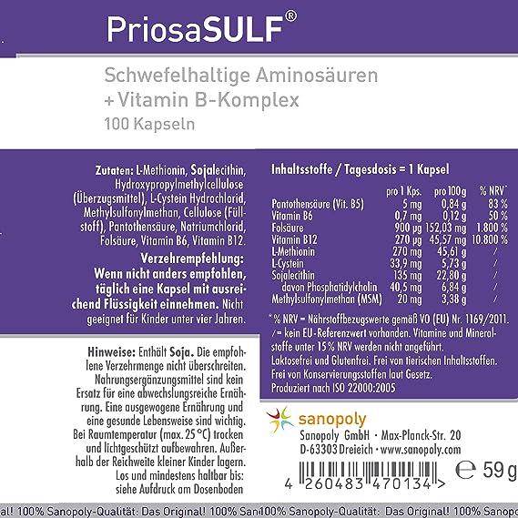 L-METHIONIN - Materiales esenciales para grupos de proteínas: Amazon ...