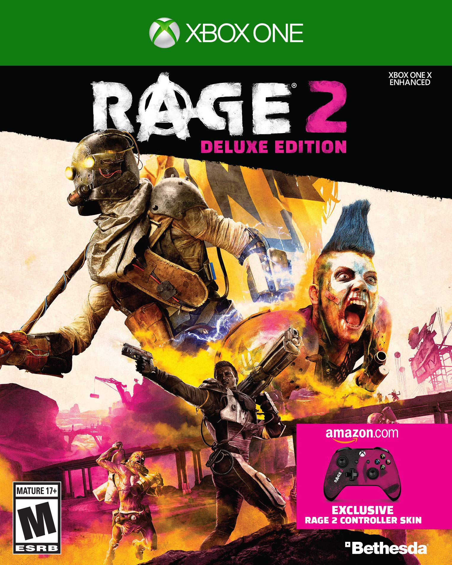 Rage 2 - Xbox One Deluxe Edition [Amazon Exclusive Bonus]