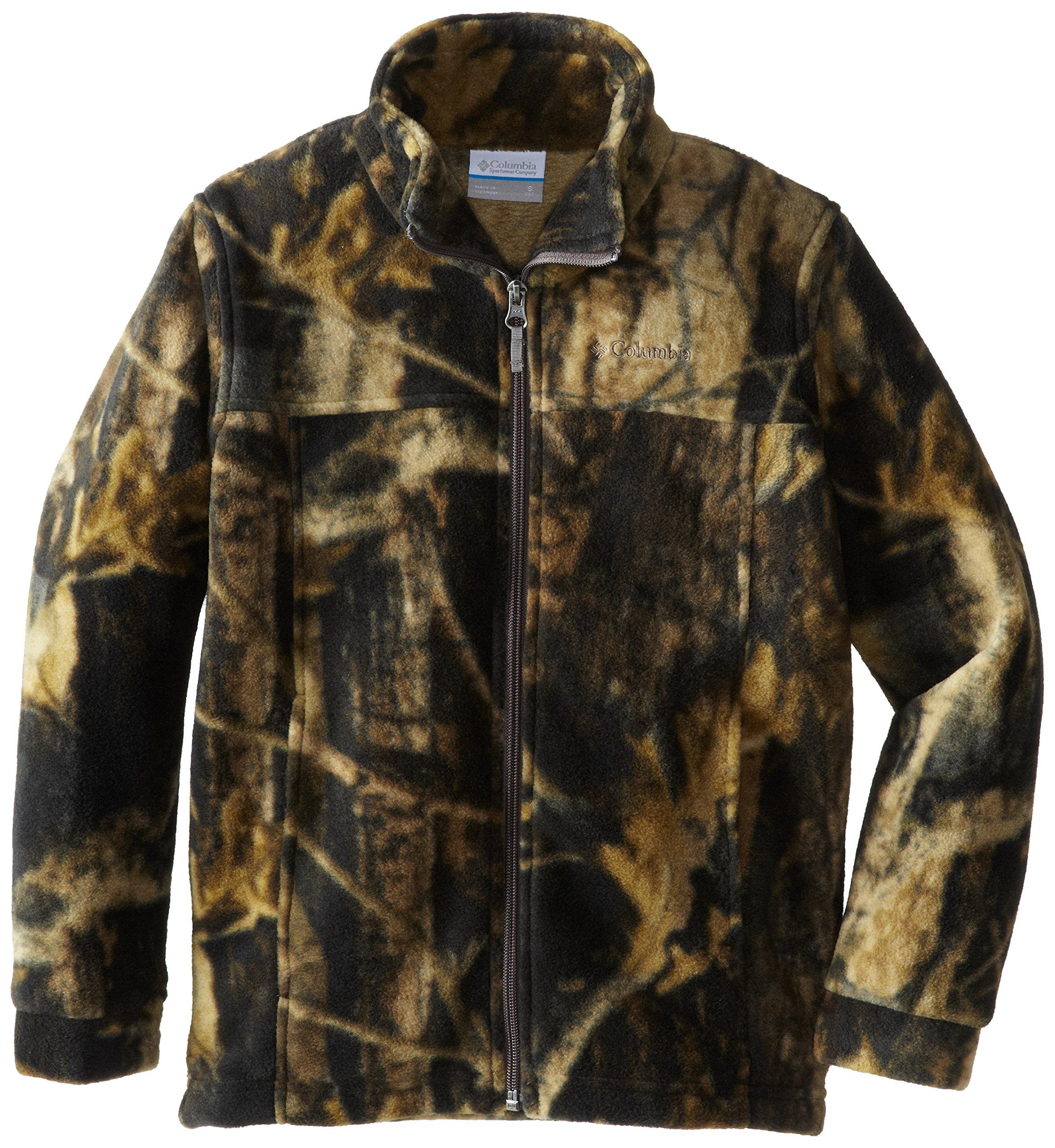 Columbia Big Boys' Zing lll Fleece Jacket, Timberwolf, Large