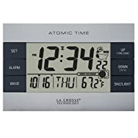 Deals on La Crosse Technology 617-1280 Atomic Digital Alarm Clock