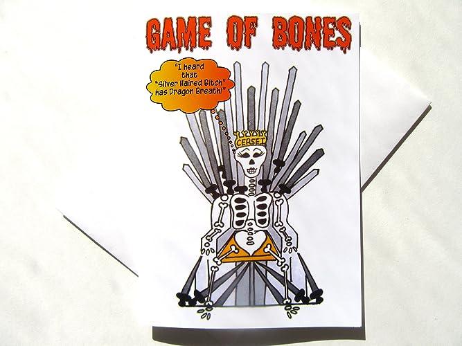 Amazon Game Of Thrones Halloween Card Funny Halloween Card