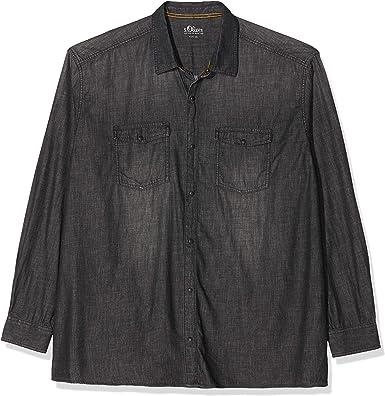 S.Oliver Big Size Camisa Vaquera para Hombre: Amazon.es: Ropa ...