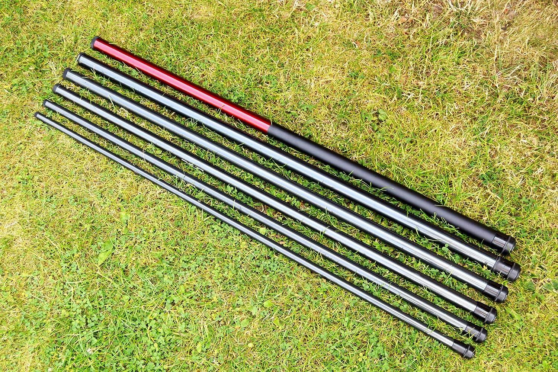 Glass Fibre Reinforced Telescopic Rod / Flag Mast / Pole Rod for Balinese Flags, Various Lengths, 3 Metres DEKOVALENZ