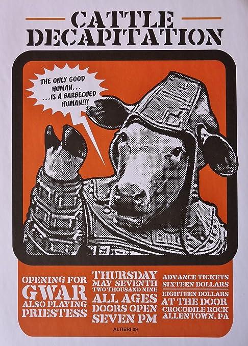 Amazon.com: Cattle Decapitation – Live at cocodrilo Rock ...