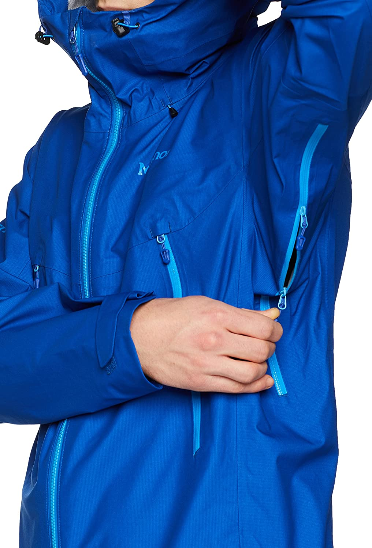 Hombre Impermeable Chubasqueros Chaqueta Impermeable Marmot Red Star Jacket a Prueba de Viento Transpirable