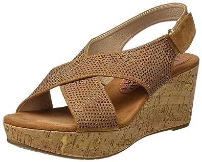 XTI 046554, Sandalias con Plataforma para Mujer: Amazon.es: Zapatos y complementos