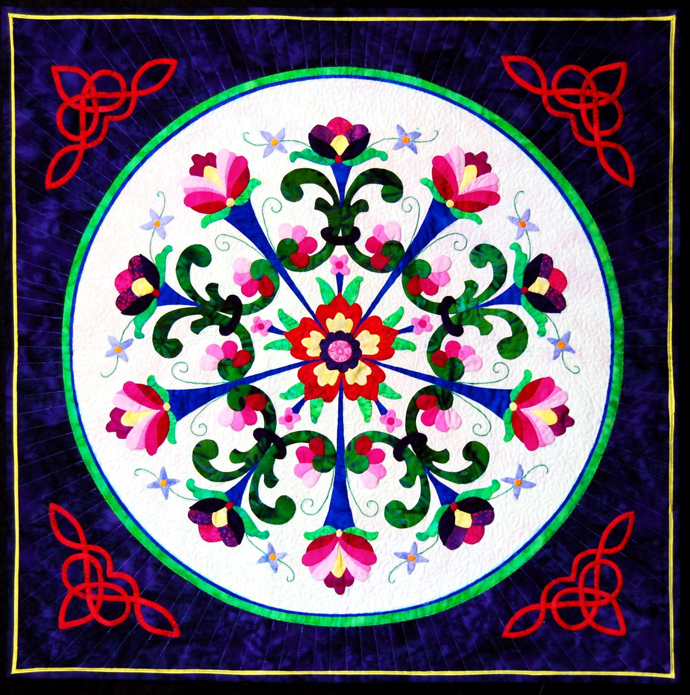 Happy Stash Quilts Rogaland Romance Quilt Pattern