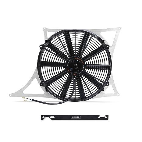 mishimoto mmfs-e46 – 01 – Rendimiento aluminio Kit de ventilador sudario