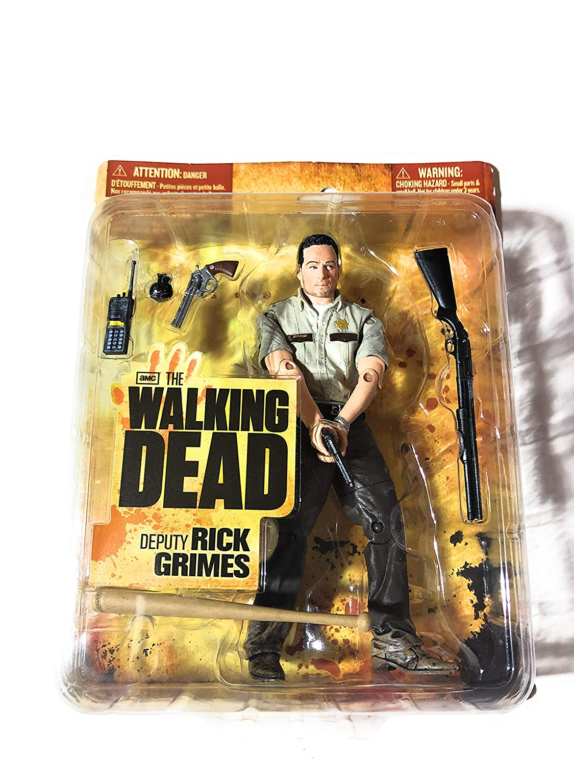 McFarlane Toys The Walking Dead Deputy Rick Grimes