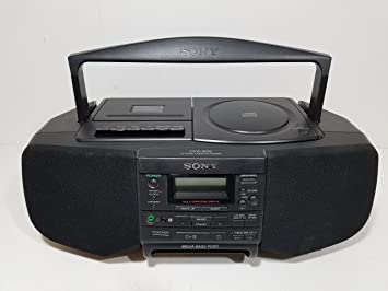 sony boombox. sony cfd-s33 boombox cd player radio cassette tape