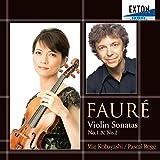 フォーレ:ヴァイオリン・ソナタ第1番、第2番