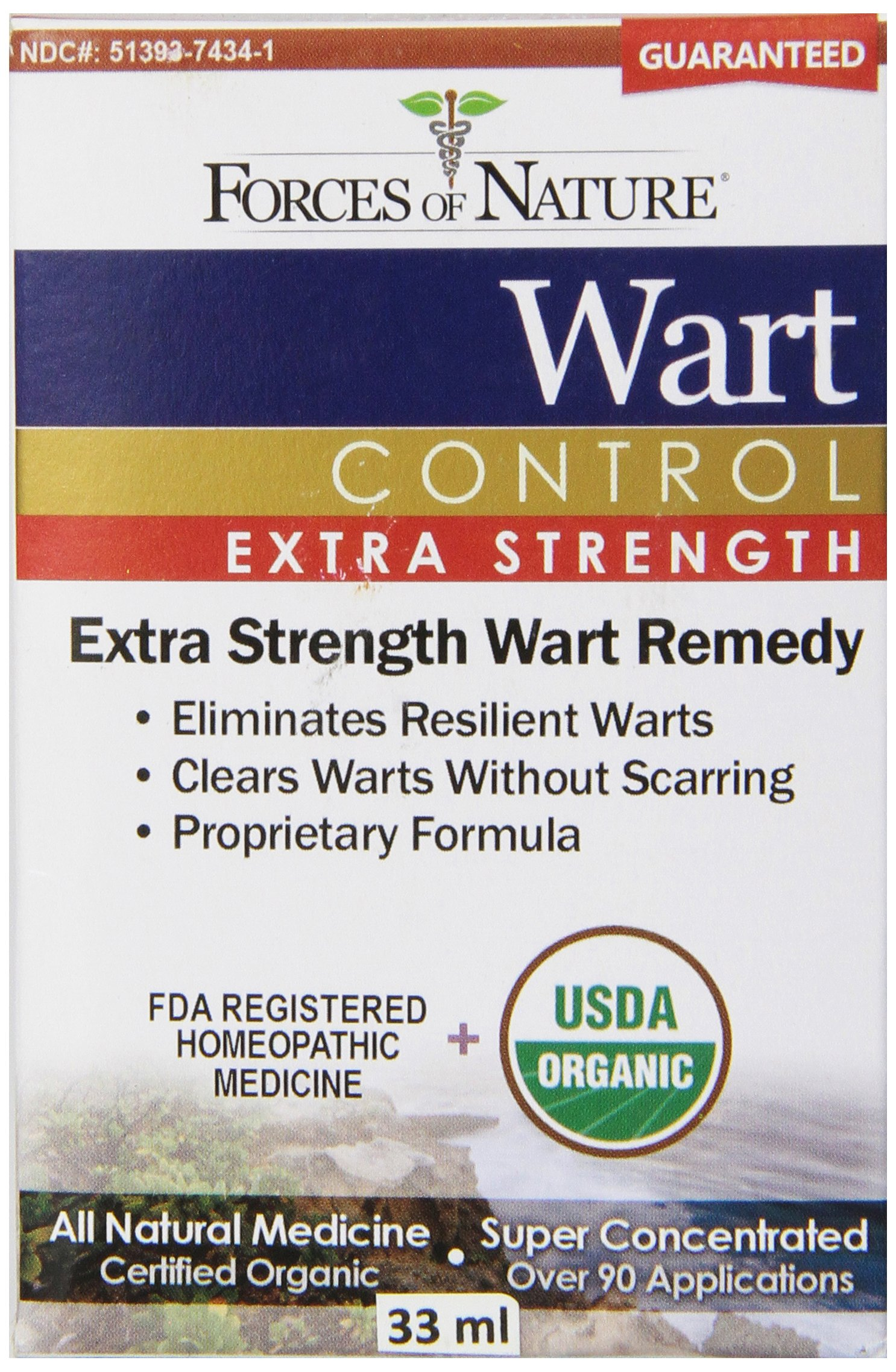 Forces of Nature Wart Control Extra Strength, 33 ml by Forces Of Nature