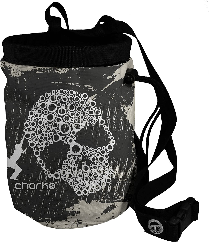 Charko Skulling Bolsa de magnesio, Unisex, Negro-Negro, Estándar