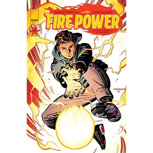 FIRE POWER BY KIRKMAN /& SAMNEE #4 #5 AND OTHERS ISSUES FIRST PRINTS