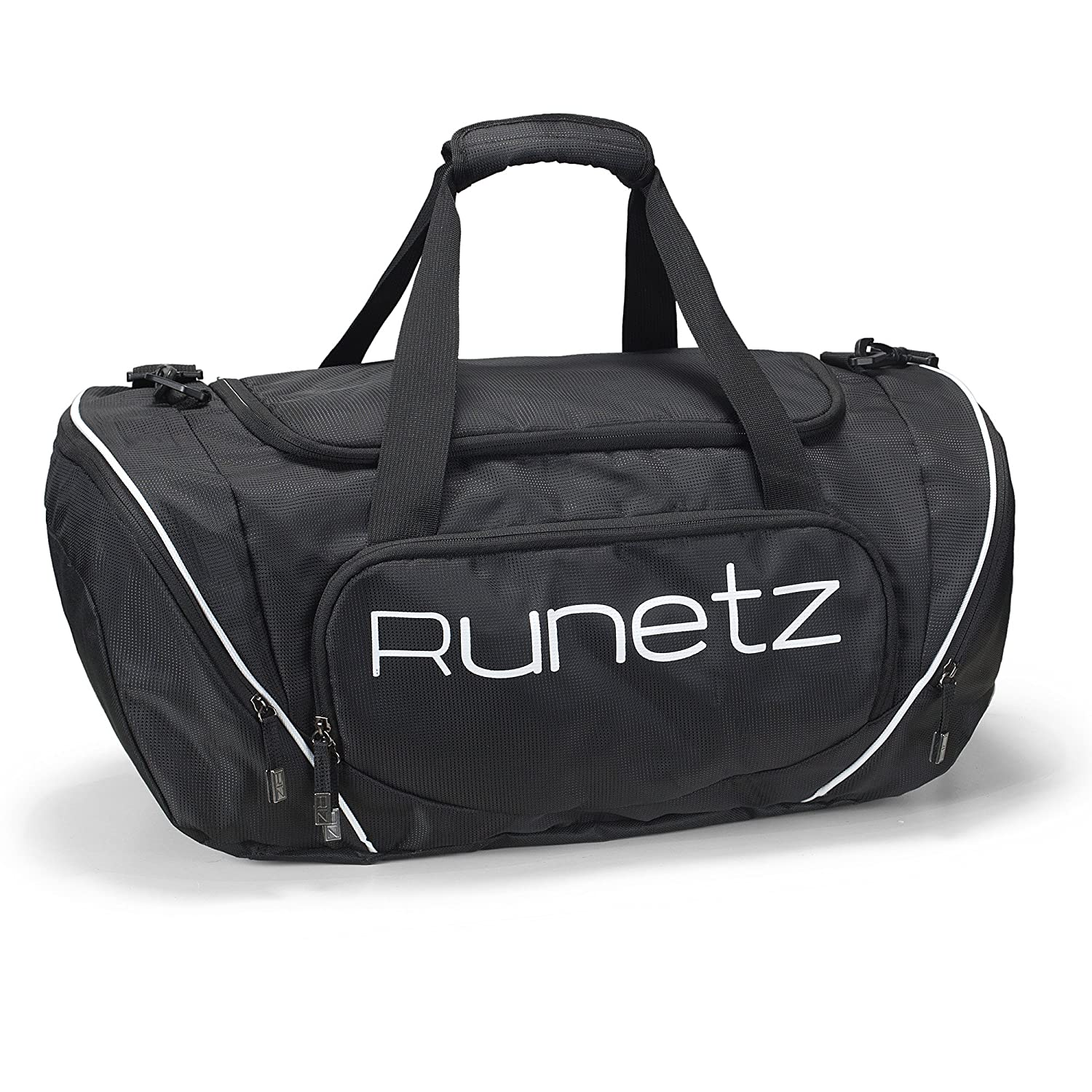 afbc2046af Amazon.com  Runetz - Gym Bag for Women and Men - Ideal Workout Overnight  Weekend Bag - Sport Duffle Bag - Large Size