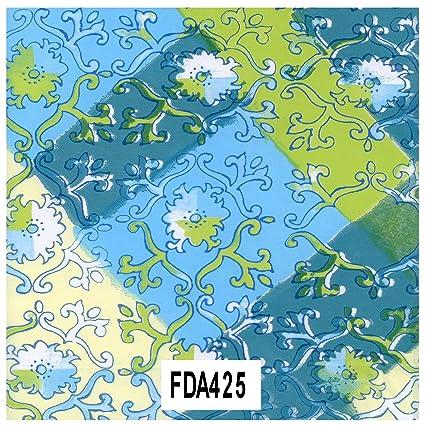 Amazon.com Decopatch Decoupage Paper Mache , Green Blue