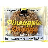 Kookie Cat, Galletas Orgánicas de Piña y Naranja - 12 de 50 gr. (