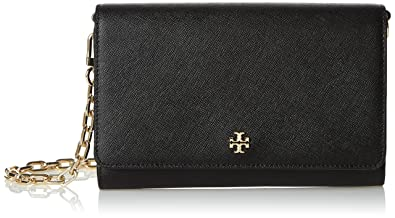 c594c95825ad Amazon.com  Tory Burch Women s Robinson Chain Wallet