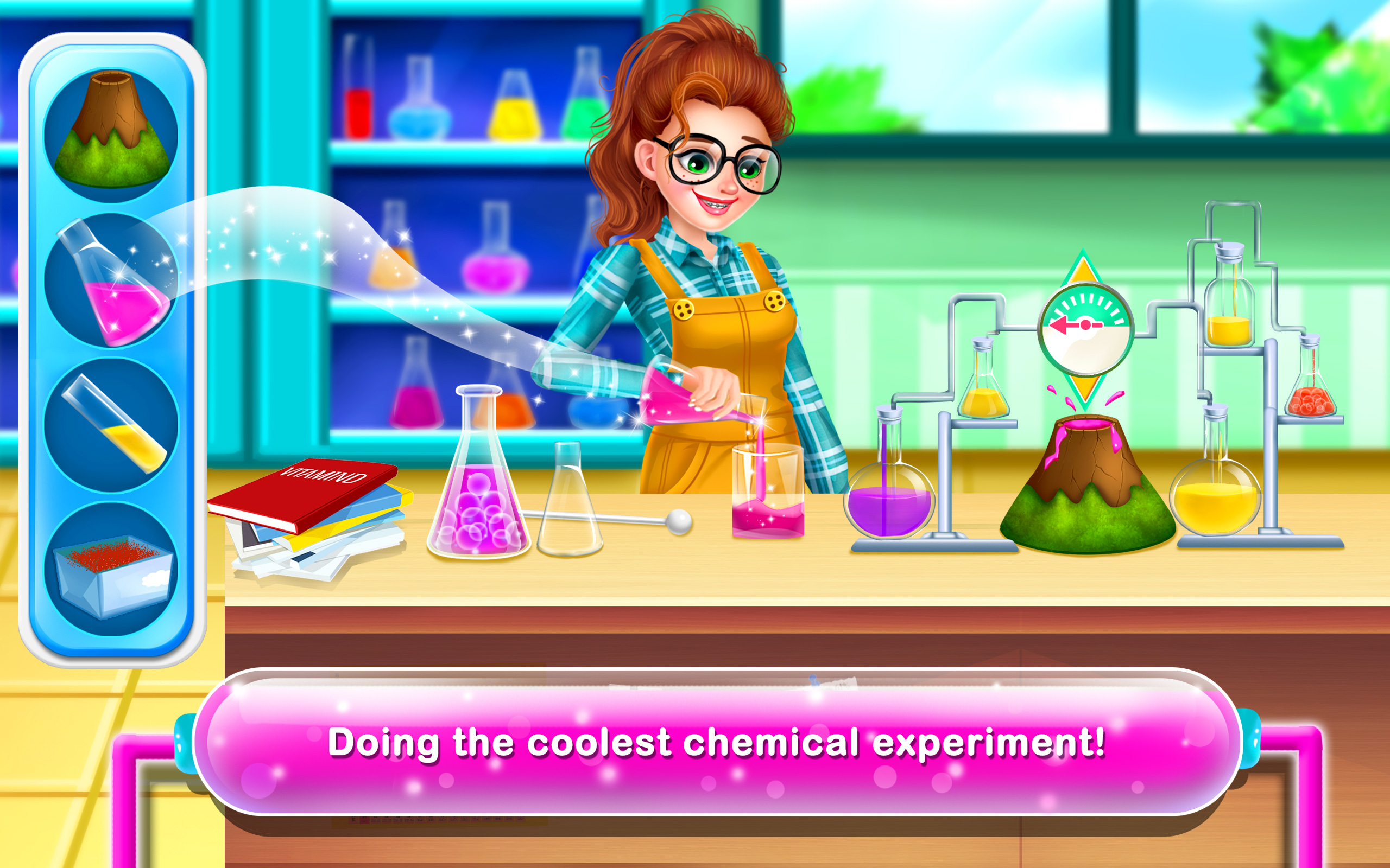 Nerdy Girl 4 - The Science Star