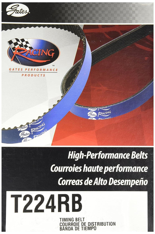 Cintur/ón de carreras Gates T224RB color azul