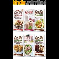 Keto Diet Cookbook: 6 Books in 1- Bible of 6 books- Keto Diet Cookbooks- Breakfast+ Smoothies+ Lunch+ Snacks+ Dinner & Dessert Recipes