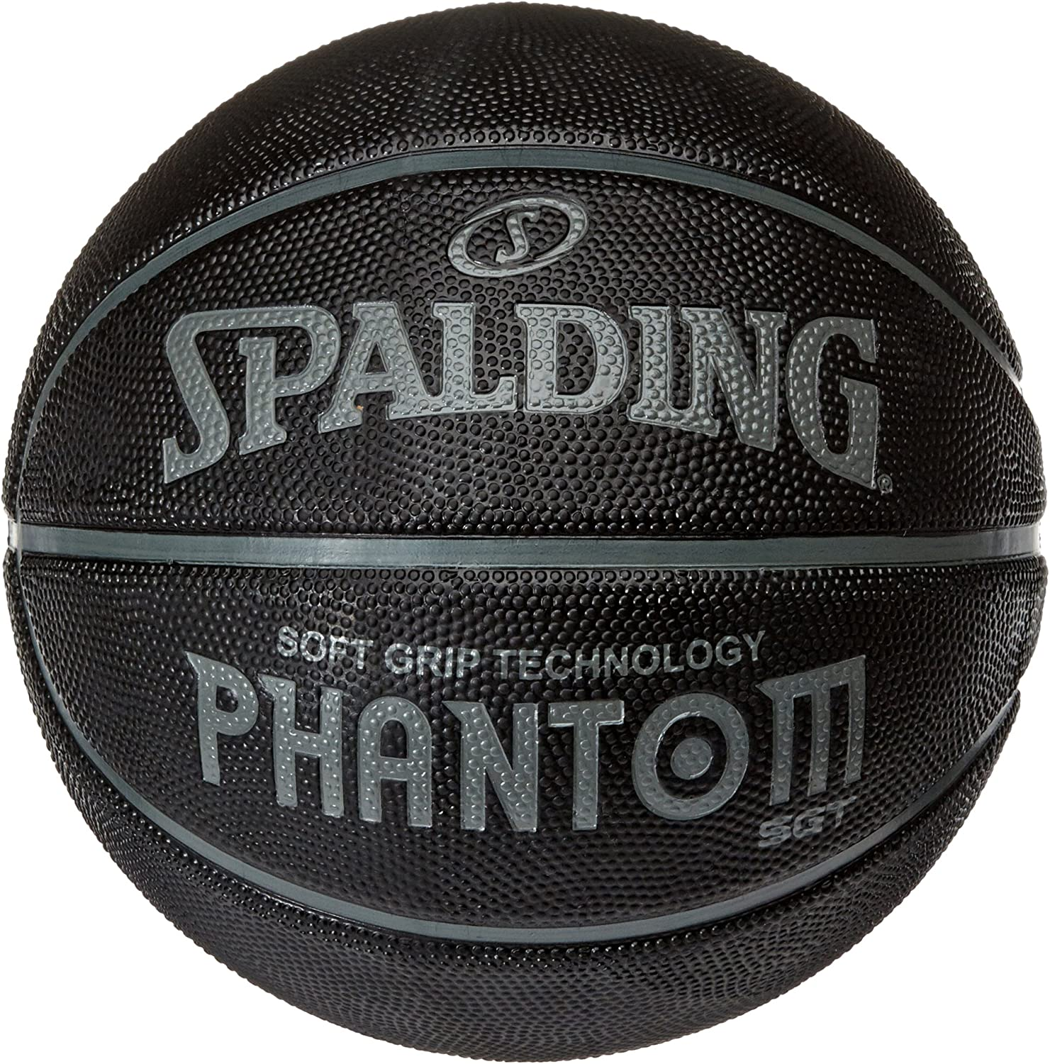 Spalding NBA Phantom Sponge Rubber - Pelota de Baloncesto, Color ...
