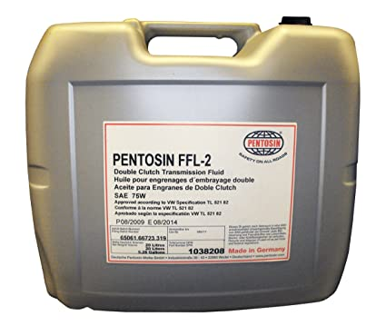 Pentosin 1038208 FFL-2 Synthetic Double Clutch (DSG) Transmission Fluid, 20 Liter