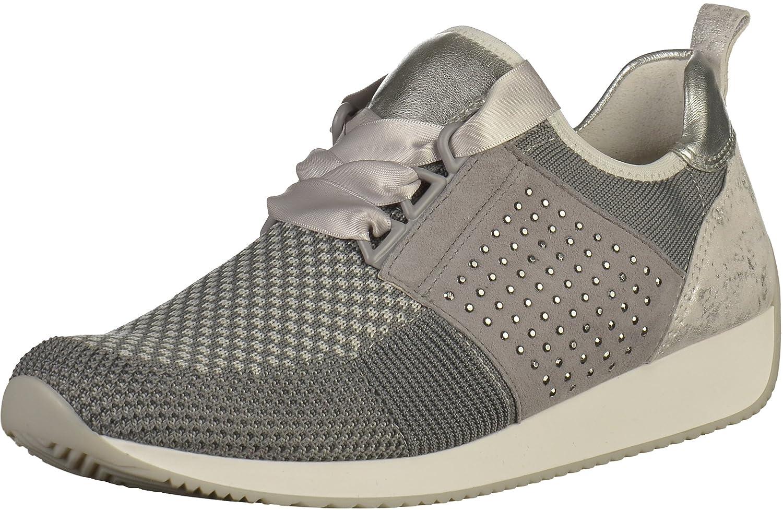 ara 12-34036-08 - Zapatos de Cordones Para Mujer 41.5 EU|gris